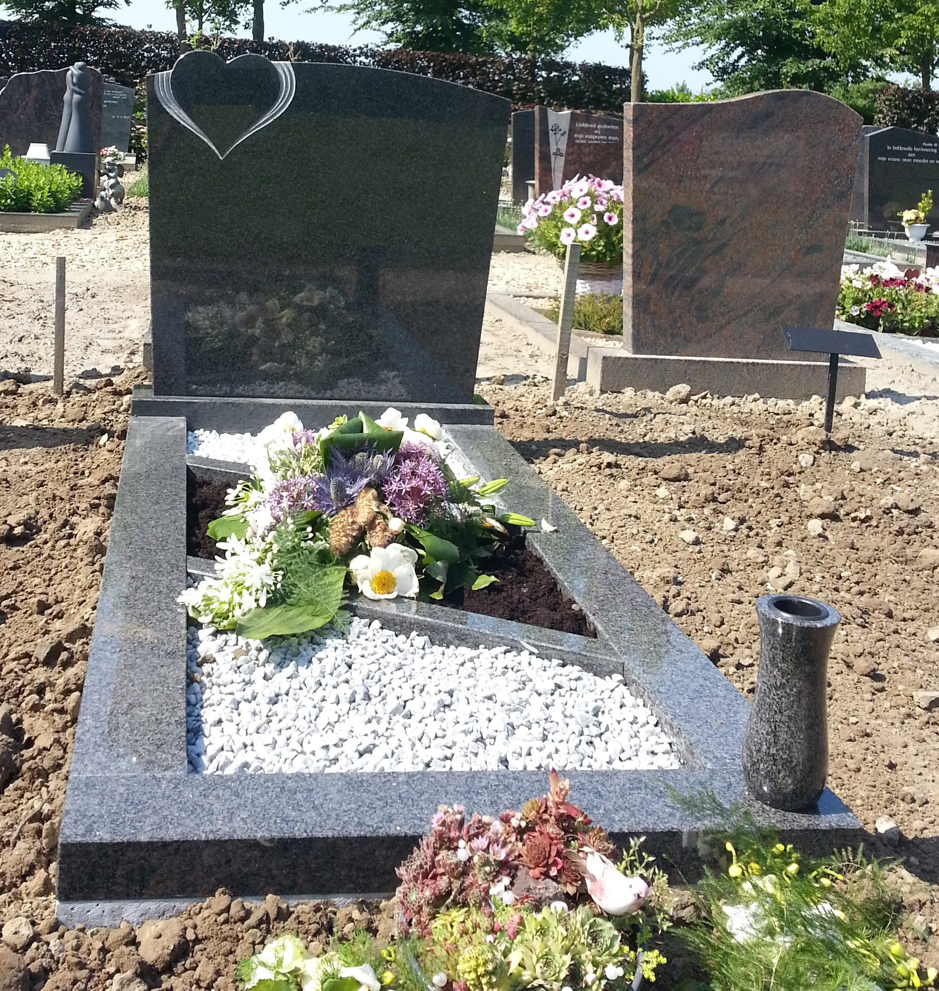 enkele-grafsteen-impala-hart