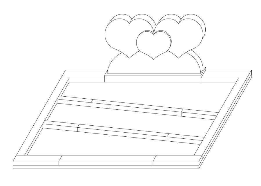 hart - tekening - wagemaker grafmonumenten & urnen