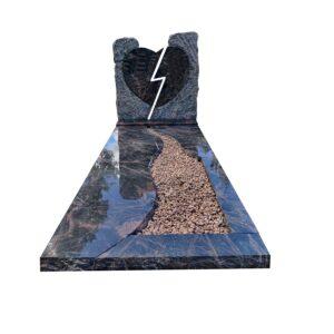 bijzondere-grafsteen-gebroken-hart