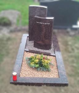 bijzondere grafsteen Bergen op Zoom