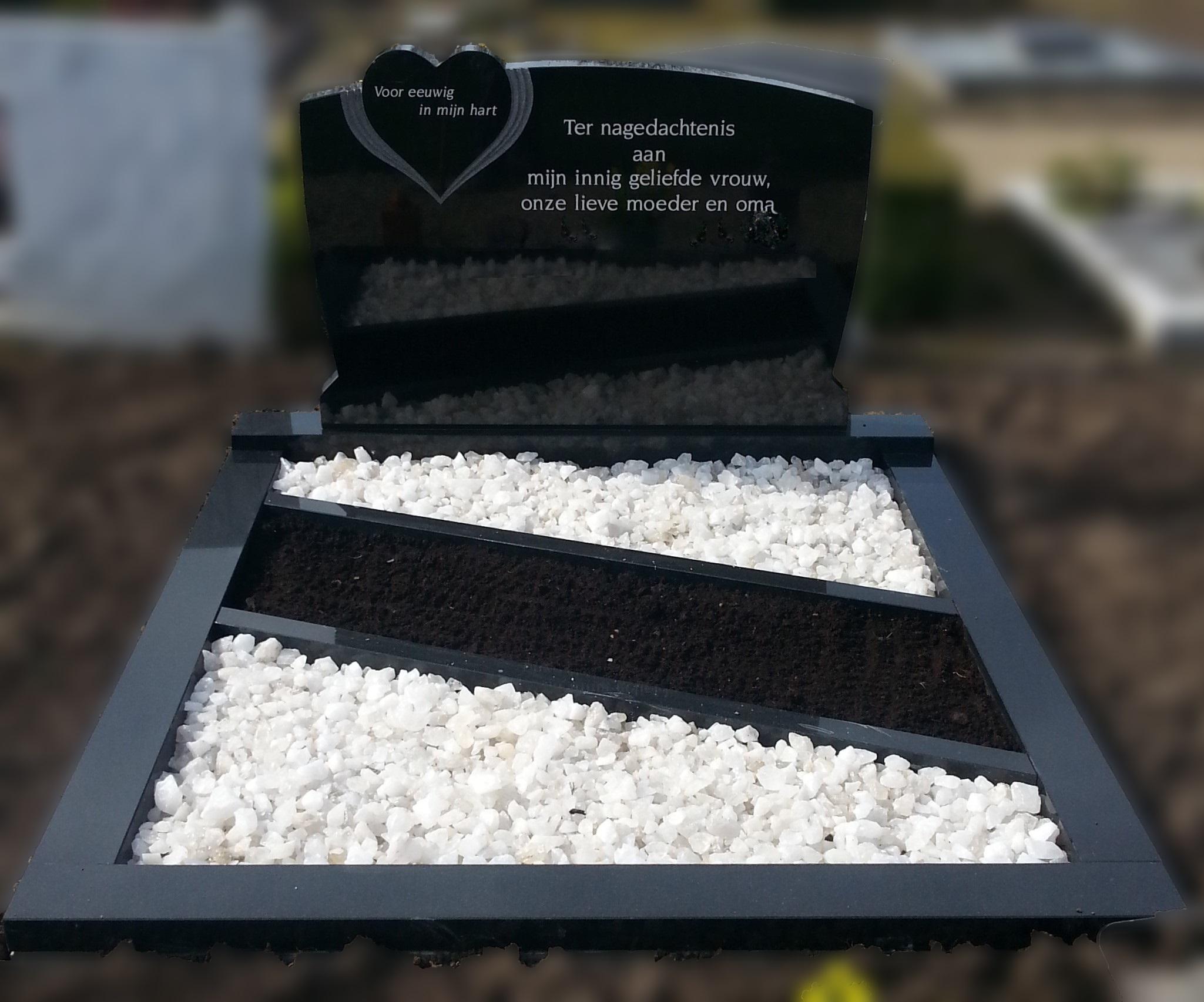 grafsteen-grafmonument-dubbel-dm-4-zwart-graniet