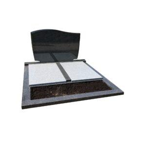 dubbel-grafmonument-met-omranding-dekplaten-plantvak-DM-1