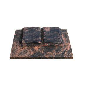liggende-grafsteen-open-boek-met-onderplaat-aurora